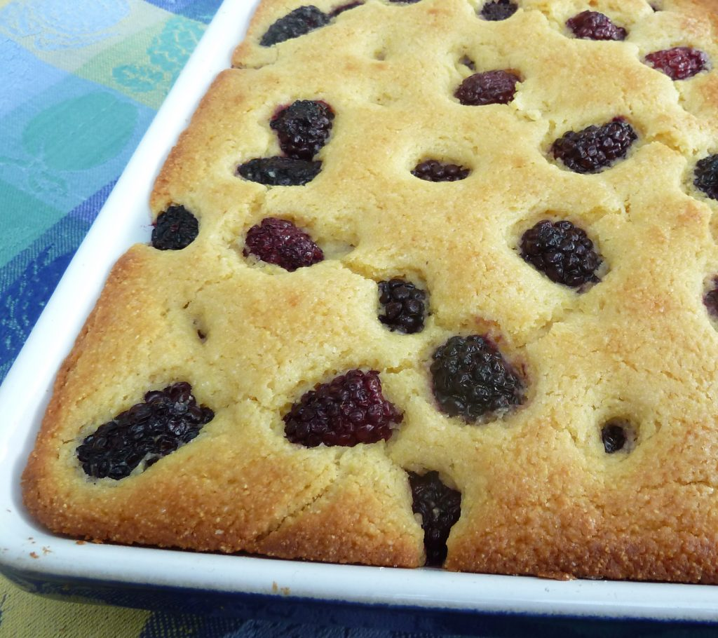 Blackberry Corn Bread