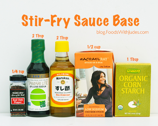 Stir-Fry Sauce Base